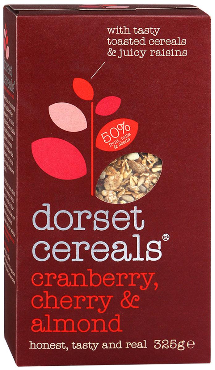 Dorset Cereals Супер клюква, вишня и миндаль мюсли, 325 г бйж002