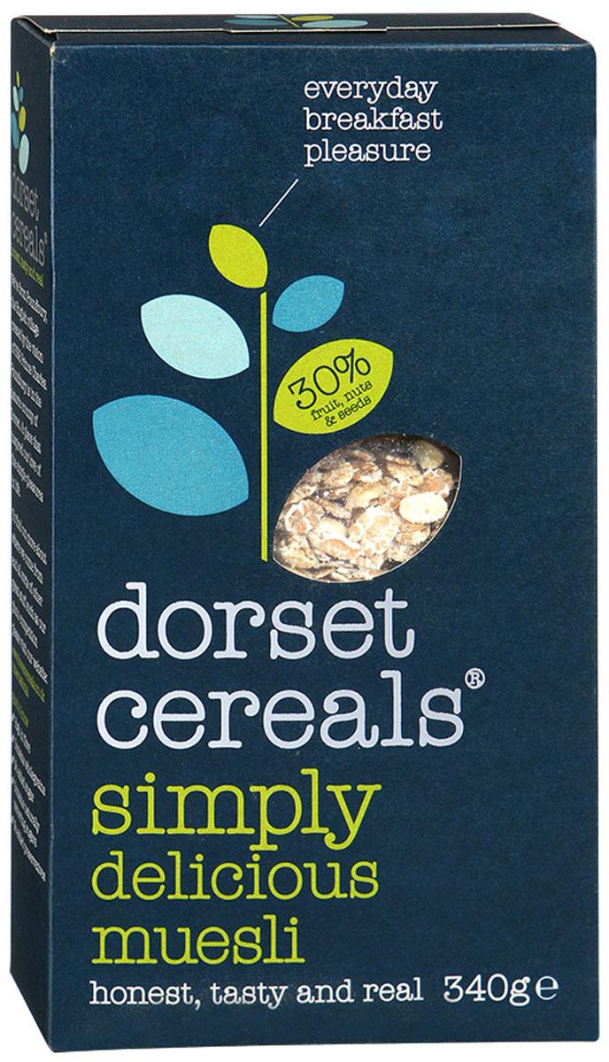 Dorset Cereals Традиционные королевские мюсли, 340 г0120710Мюсли Dorset Cereals Традиционные королевские подходят для завтрака с молоком, йогуртом или фруктовым соком.Уважаемые клиенты! Обращаем ваше внимание, что полный перечень состава продукта представлен на дополнительном изображении.