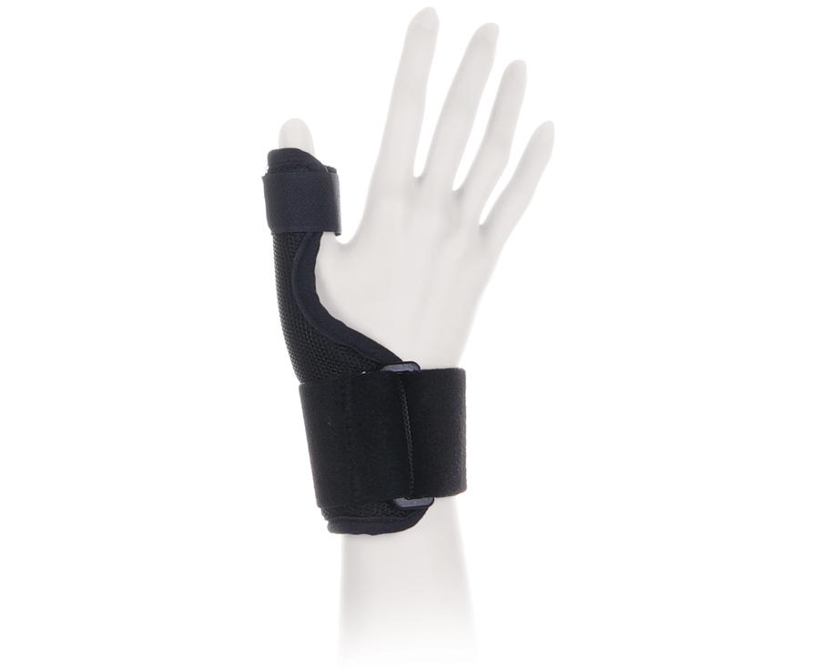 Ttoman Бандаж для фиксации большого пальца руки FS-101. Размер 3/LП.90 50х35Особенности:фиксирующая лентамоделируемая металлическая вставка универсальный (на левую и правую руку)размеры: S, M, L, XL Показания к применению:стабилизация сустава большого пальца, перегрузки, воспаления сухожильного-связочного аппаратаможет применяться как в профилактических, так и в лечебных целяхСостав:нейлон - 40%хлопок - 35%эластан - 25%S окружность лучезапястного сустава 15-18смM окружность лучезапястного сустава 18-22смL окружность лучезапястного сустава 22-26смXL окружность лучезапястного сустава 26-30см