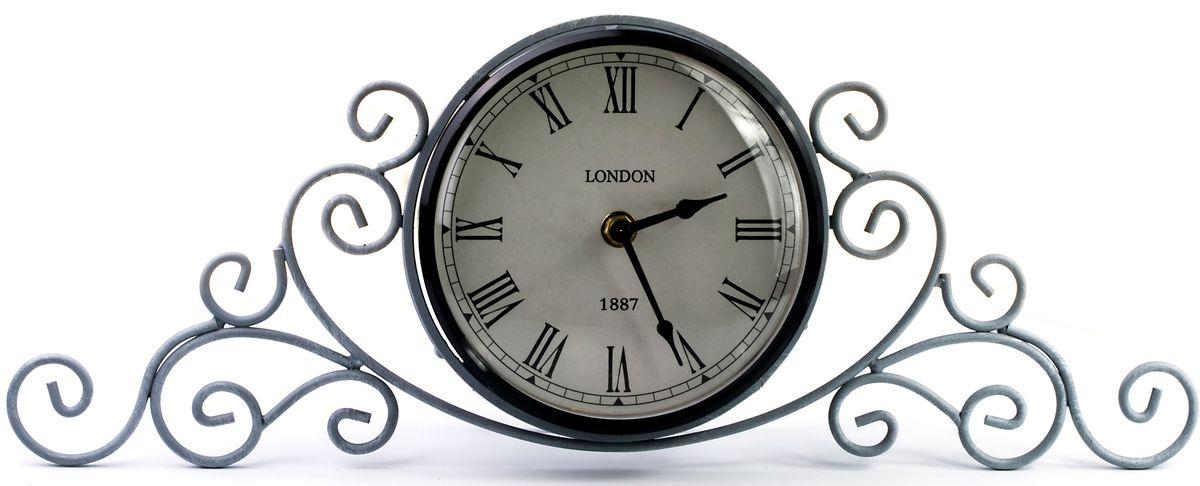 Часы настольные Miralight, цвет: серый. ML-5111ML-5111 Antique grey Часы настольные серые