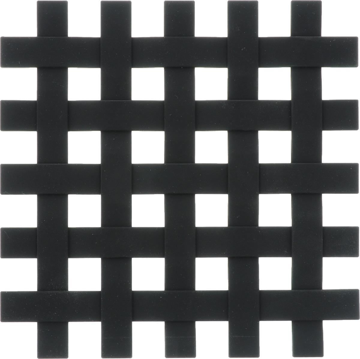 Подставка под горячее Zeller, цвет: черный, 17,2 х 17,2 см27232Подставка под горячее Zeller в виде решетки изготовлена из силикона. Материал позволяет выдерживать высокие температуры и не скользит по поверхности стола. Каждая хозяйка знает, что подставка под горячее - это незаменимый и очень полезный аксессуар на каждой кухне. Ваш стол будет не только украшен оригинальной подставкой, но и избежит воздействия высоких температур.