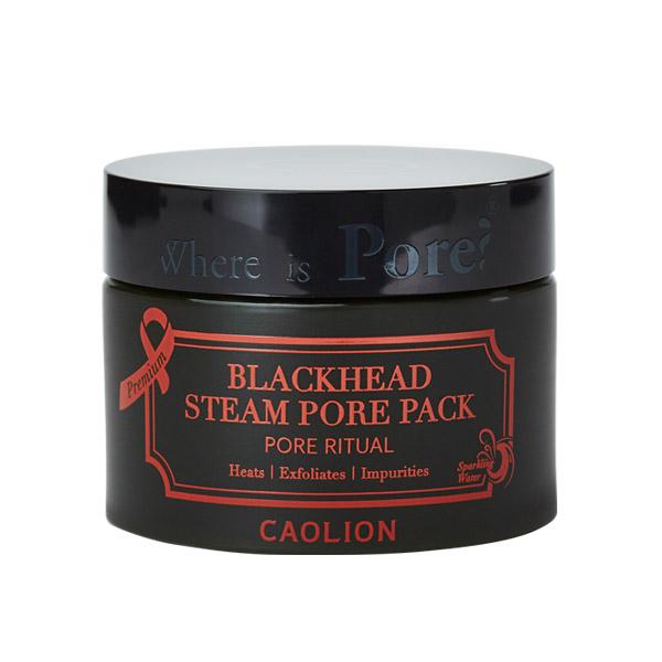Caolion Разогревающая маска для очищения пор Blackhead Steam Pore 50г40000Супер-активная маска с термическим воздействием глубоко очищает поры, устраняя черные точки, омертвевшие клетки кожи и оставляя кожу безупречно чистой, свежей и увлажненной. Уникальная формула включает исключительно натуральные компоненты, такие как каолин, зеолит, вулканический пепел, широчайший спектр ферментированных экстрактов растений и фруктов и другие компоненты, направленные на поддержание чистоты, здоровья и красоты кожи. Натуральная минеральная вода, используемая в качестве базы средства, способствует глубокому проникновению компонентов в кожу, позволяя добиться максимального очищающего и увлажняющего эффекта.