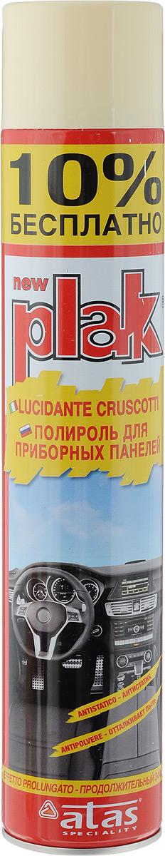Полироль для приборных панелей Plak Ваниль, 750 мл5164Полироль Plak Ваниль предназначен для панели приборов, содержит освежитель воздуха продленного действия. Возвращает первоначальный блеск всем пластмассовым, виниловым и резиновым элементам отделки салона автомобиля, создавая на поверхности стойкий антистатический слой, отталкивающий пыль и грязь. Также полироль позволяет создать глянцевое покрытие. Товар сертифицирован.