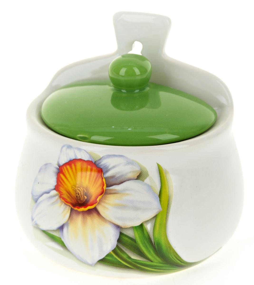 Солонка Polystar НарциссL2520309Оригинальная солонка Нарцисс изготовлена из высококачественной керамики. Изделие имеет отверстие для подвешивания. Солонка украсит любую кухню и подчеркнет прекрасный вкус хозяина.