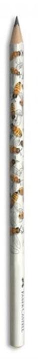 Faber-Castell Чернографитовый карандаш Triangular цвет корпуса белый желтый 118362