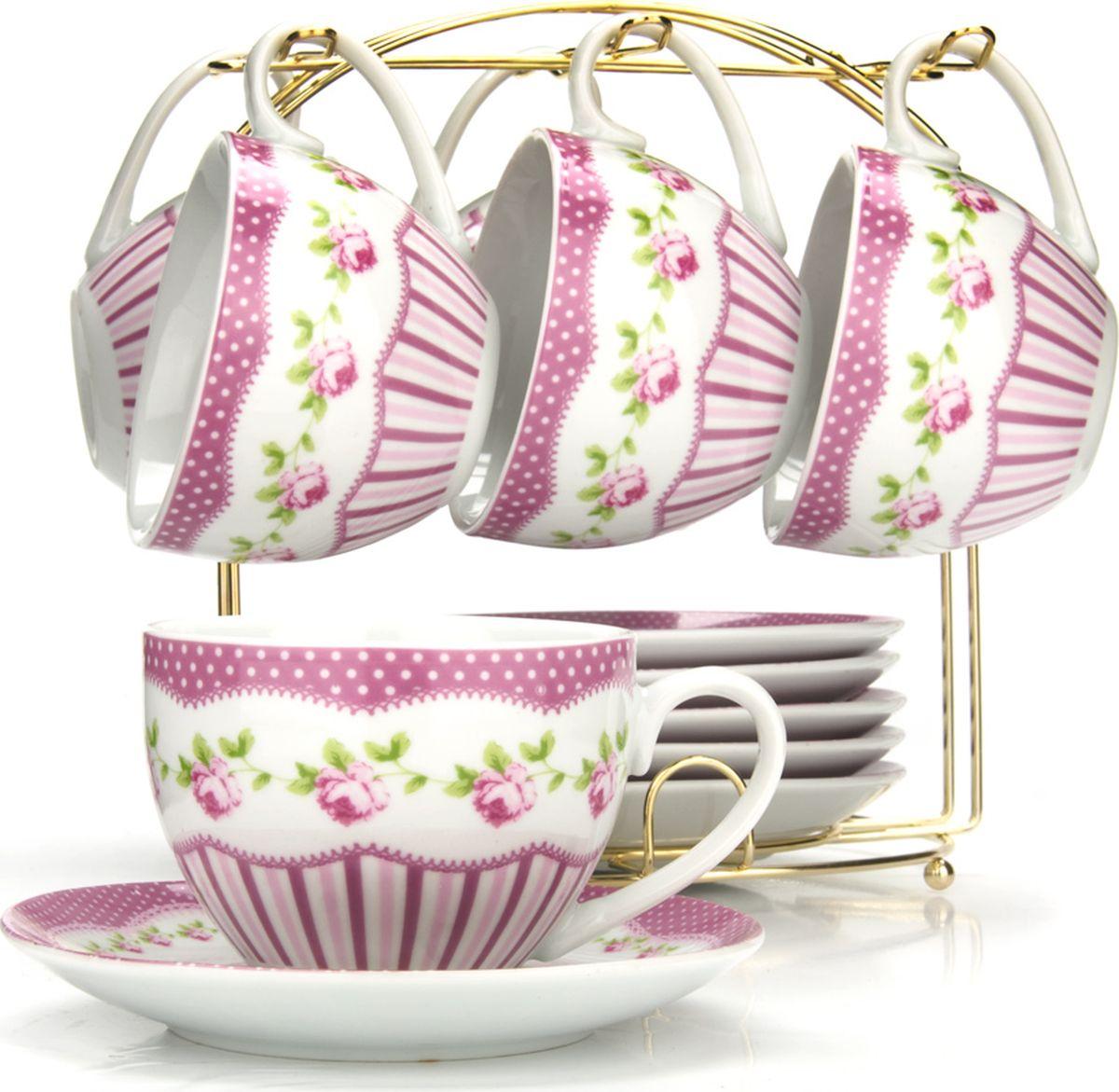 Сервиз чайный Loraine, на подставке, 13 предметов. 4329825950