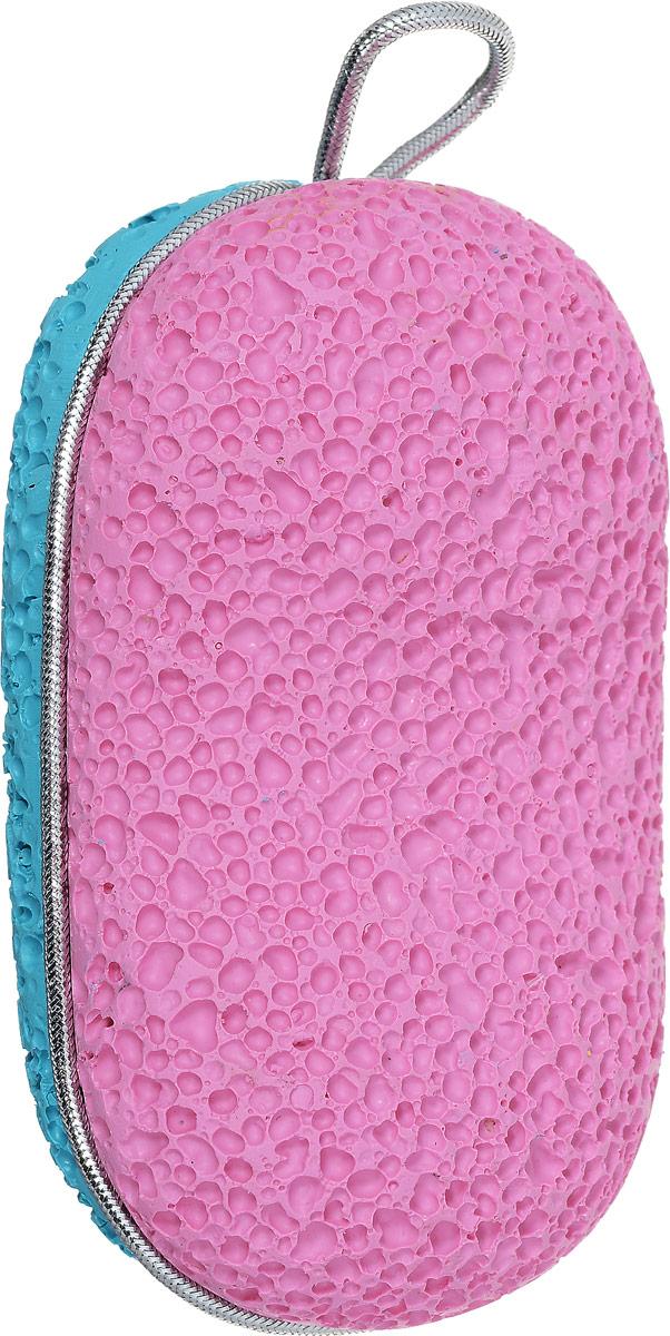 Zinger Пемза педикюрная двухсторонняя из искусственного камня zo-PB-07, цвет: розовый, бирюзовый4630003365187Zinger Пемза педикюрная двухсторонняя из искусственного камня zo-PB-07, цвет: розовый, бирюзовый