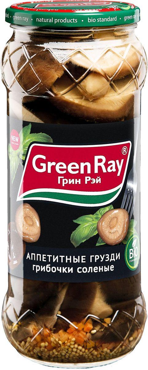 Green Ray грузди соленые, 580 мл0120710Грибы Green Ray богаты белками и минералами. После обработки в процессе соления или маринада полезные свойства практически не утрачиваются.