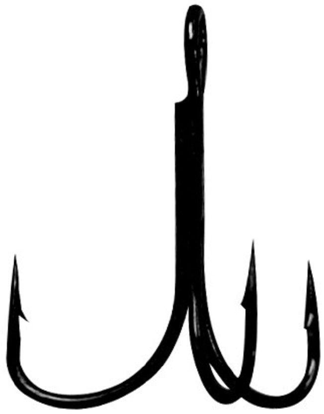 Крючок Тройник Gamakatsu Treble 17, №8, 10 шт14667200800