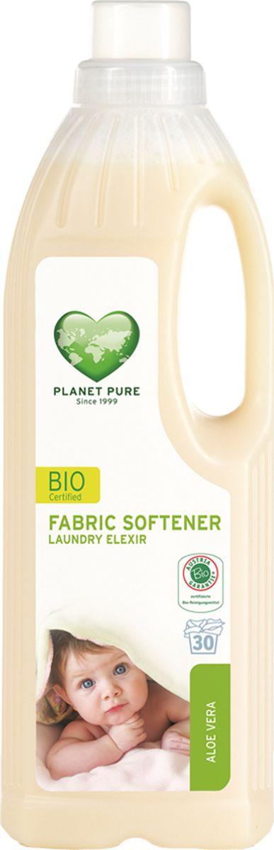 Planet Pure Кондиционер для белья Алоэ вера 1000 мл790009BIO Кондиционер для детского белья экстра-мягкий Planet Pure АЛОЭ ВЕРА изготавливается на чисто растительной основе без растворителей, химических ПАВ, отдушек и пальмового масла. Придает тканям мягкость и свежесть. Поскольку этот продукт состоит из чистых растений и их экстрактов, таких как сапонария, рапс, календула и розмарин, он бережно относится к вашей коже и сохраняет нашу окружающую среду. Ваше бельё получается более мягким и гладким после сушки, со свежим ароматом алоэ вера. Особенности: Растительная основа; Забота в вашей коже; Драгоценные экстракты трав; Без нефтепродуктов и пальмового масла; Без ГМО; Без тестов на животных.Товар сертифицирован.