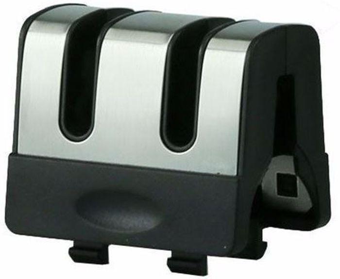 Точилка универсальная Ножемир Taidea. T0991TCT0991TCполное название: точилка универсальная бренд: Taidea материал: металл, пластик размер, см: 4,5 х 3,3 х 4