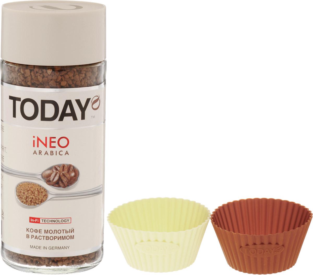 Today In-Fi кофе растворимый, 95 г + набор для выпечки 5060300570134