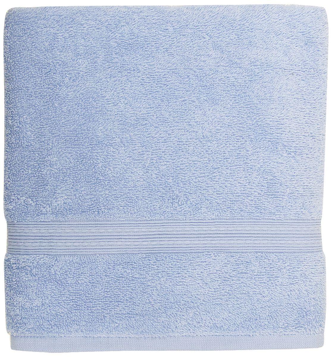 Полотенце банное Bonita Classic, цвет: азур, 50 x 90 см68/5/2Банное полотенце Bonita Classic выполнено из 100% хлопка. Изделие отлично впитывает влагу, быстро сохнет, сохраняет яркость цвета и не теряет форму даже после многократных стирок. Такое полотенце очень практично и неприхотливо в уходе. Оно создаст прекрасное настроение и украсит интерьер в ванной комнате.