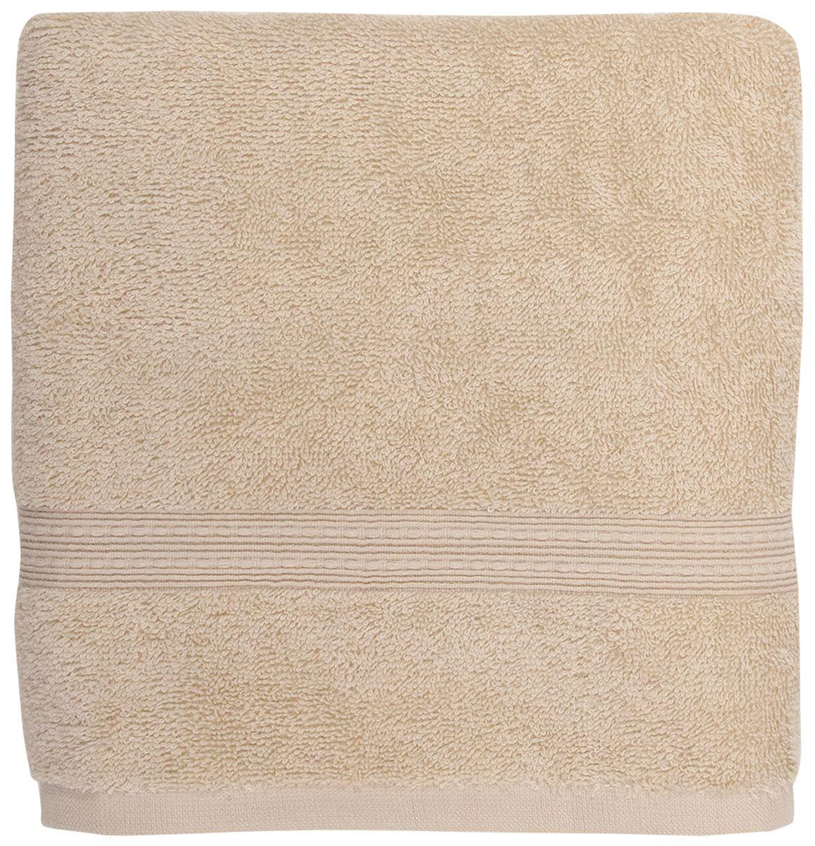 Полотенце банное Bonita Classic, цвет: бисквит, 70 х 140 смS03301004Банное полотенце Bonita Classic выполнено из 100% хлопка. Изделие отлично впитывает влагу, быстро сохнет, сохраняет яркость цвета и не теряет форму даже после многократных стирок. Такое полотенце очень практично и неприхотливо в уходе. Оно создаст прекрасное настроение и украсит интерьер в ванной комнате.
