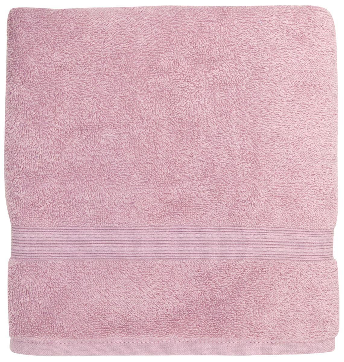 Полотенце банное Bonita Classic, махровое, цвет: лаванда, 50 x 90 см1011217217Полотенце банное 50*90 Bonita Classic, махровое