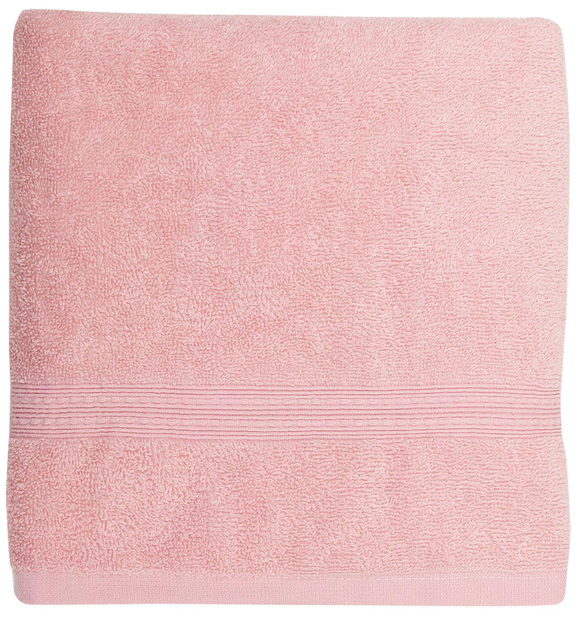 Полотенце банное Bonita Classic, махровое, цвет: роза, 70 х 140 см1011217225Полотенце банное 70*140 Bonita Classic, махровое