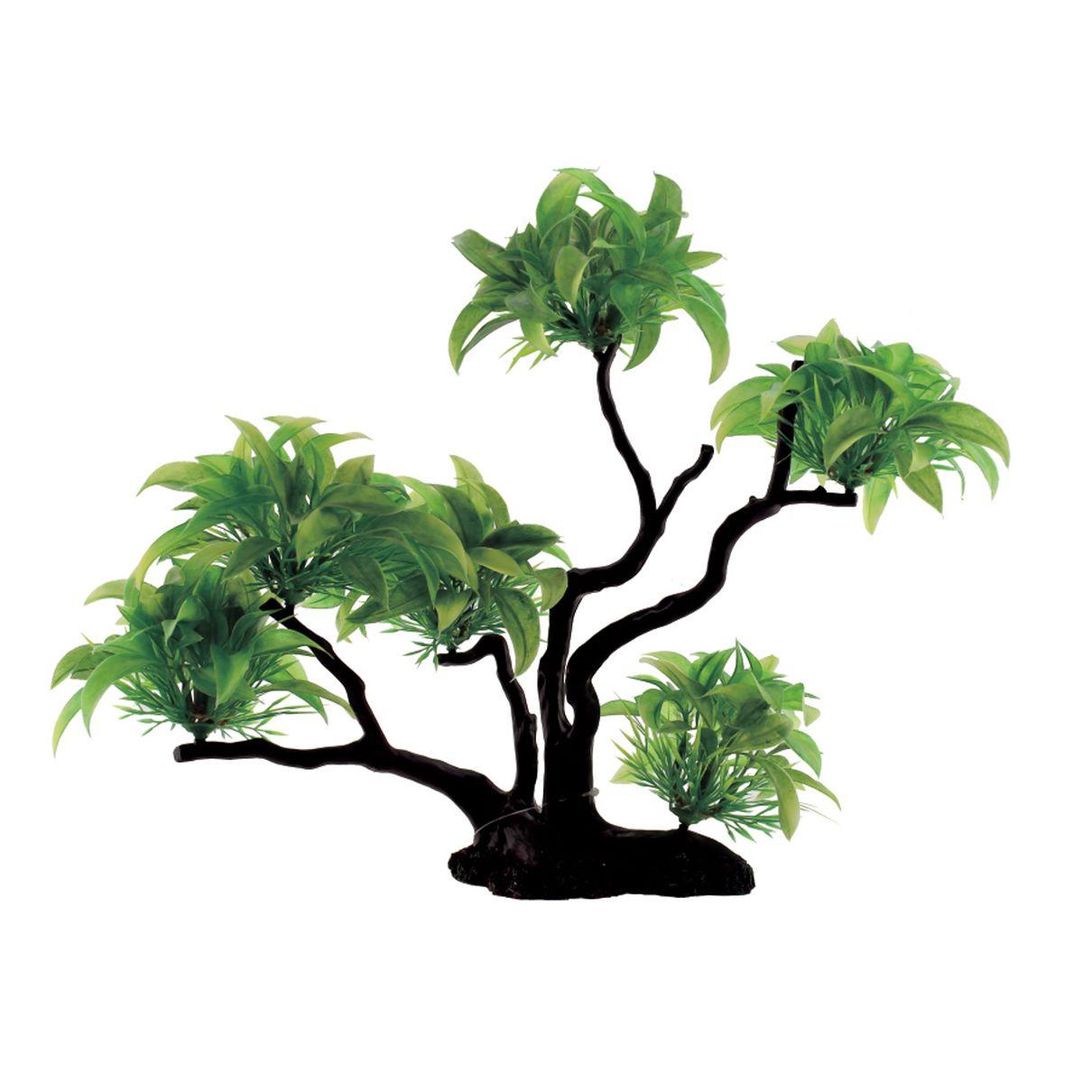 Композиция из растений для аквариума ArtUniq Буцефаландра, 32 x 15 x 30 см0120710Композиция из растений для аквариума ArtUniq Буцефаландра, 32 x 15 x 30 см