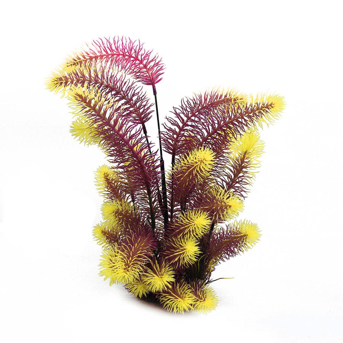 Растение для аквариума ArtUniq Погостемон Эректус красно-желтый, высота 38 см0120710Растение для аквариума ArtUniq Погостемон Эректус красно-желтый, высота 38 см