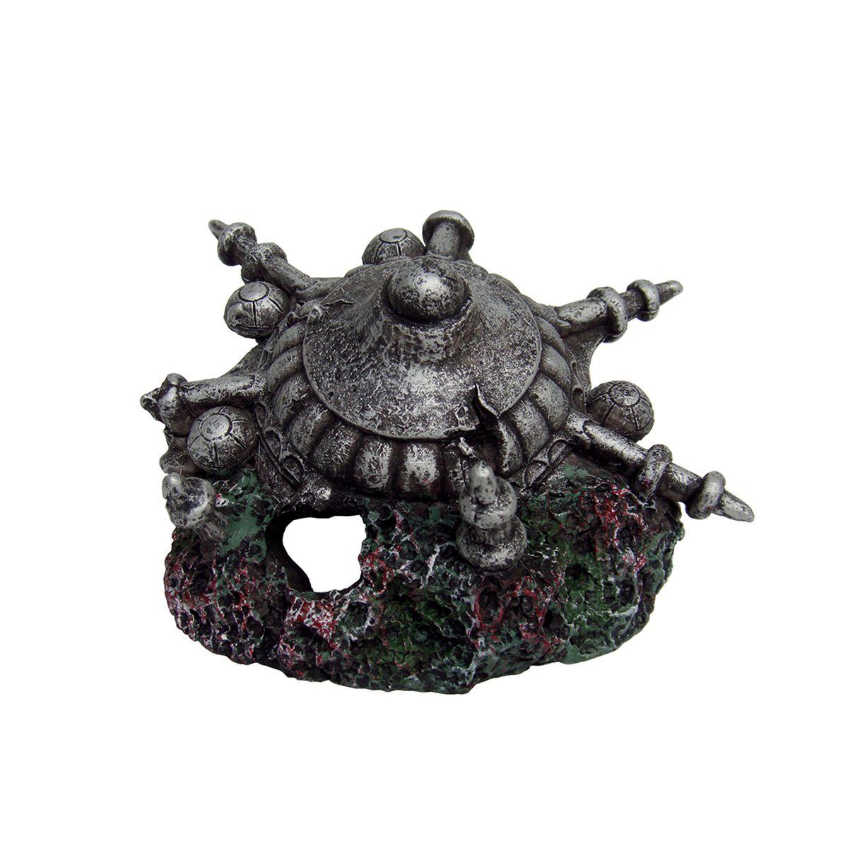 Декорация для аквариума ArtUniq Каменный щит, 11 x 10 x 6 смART-2251420Декорация для аквариума ArtUniq Каменный щит, 11 x 10 x 6 см