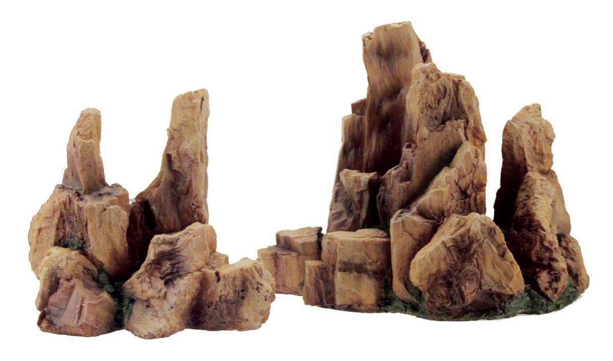 Декорация для аквариума ArtUniq Крутые скалы, 31,5 x 24,5 x 26 см0120710Декорация для аквариума ArtUniq Крутые скалы, 31,5 x 24,5 x 26 см