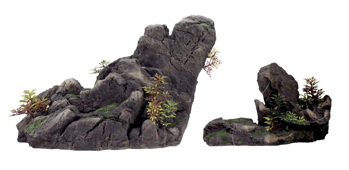Декорация для аквариума ArtUniq Скальная композиция, 47,5 x 18 x 31,2 см декорация для аквариума artuniq пористый камень 20 5 x 10 5 x 18 8 см