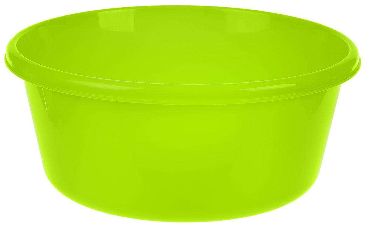 Таз Idea, круглый, цвет: салатовый, 8 лМ 2512Таз Idea выполнен из прочного пластика. Он предназначен для стирки и хранения разных вещей. Также в нем можно мыть фрукты. Такой таз пригодится в любом хозяйстве. Диаметр таза (по верхнему краю): 30 см. Высота стенки: 14 см.