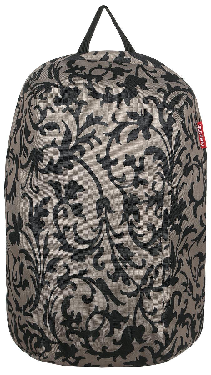 Рюкзак женский Reisenthel, цвет: бежевый, черный. RC7027BP-001 BKСтильный женский рюкзак Reisenthel выполнен из плотного полиэстера с оригинальным принтом. Изделие имеет одно отделение, которое закрывается на застежку-молнию. Внутри находится мягкий карман для ноутбука или планшета, закрывающийся на хлястик с липучкой. Снаружи, на передней стенке находится прорезной карман на застежке-молнии. Уплотненная спинка обеспечивает комфорт при переноске изделия. Рюкзак оснащен удобными широкими лямками, которые регулируются по длине, и текстильной ручкой. Стильный рюкзак Reisenthel станет незаменимым в повседневной жизни.