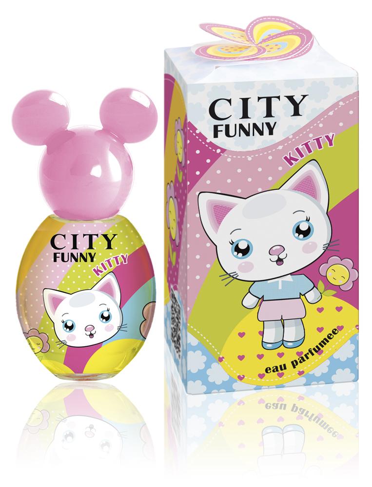 City Parfum City Funny Kitty , душистая вода 30 мл2001010644Очаровательный CITY FUNNY Kitty - это ласко- вое и милое чудо с добрыми, по-детски искрен-ними глазами, которое подарит сладкие минуты счастья и радости с сахарными нотками сочной клубники!