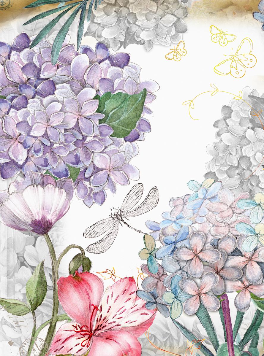 Фотообои Barton Wallpapers Цветы, 200 x 270 см. F10002F10002Флизелиновые фотообои Barton Wallpapers Цветы. Превосходное цифровое качество изображения, экологичные, износостойкие, не пахнут, стойки к выцветанию, просты в поклейке. Размер: ширина 200 см, длина 270 см.