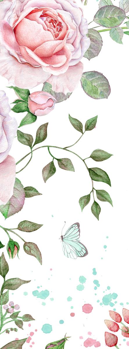 Фотообои Barton Wallpapers Цветы, 100 x 270 см. F10801F10801Флизелиновые фотообои Barton Wallpapers Цветы. Превосходное цифровое качество изображения, экологичные, износостойкие, не пахнут, стойки к выцветанию, просты в поклейке. Каждому человеку хочется внести индивидуальности в свой интерьер и сделать его уютней. Английские обои Barton Wallpapers сделают это лучше всего!