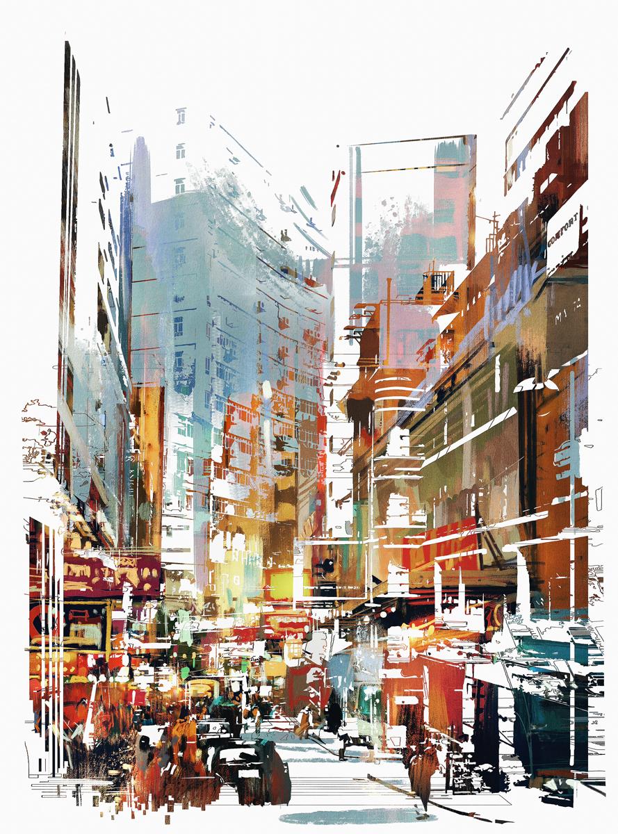 "Фотообои Barton Wallpapers ""Города"", 200 x 270 см. U07602"