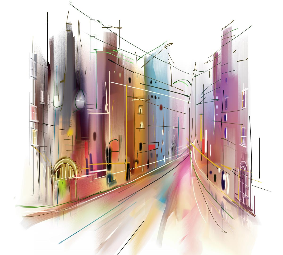 Фотообои Barton Wallpapers Города, 300 x 270 см. U09703U09703Флизелиновые фотообои Barton Wallpapers Города. Превосходное цифровое качество изображения, экологичные, износостойкие, не пахнут, стойки к выцветанию, просты в поклейке. Любой современный город - это место со своей особенной атмосферой и историей. Именно так и изображен город на фотопанно новой серии: стремительный поток событий и судеб в круговороте ярких красок. Прислушайтесь к нему, и вы сможете разгадать его тайны, раскрыть секреты и полюбить его. Фотообои в лаконичном графическом стиле рисования символично изображают городской проспект среди домов. Что это за город - на этот вопрос предстоит ответить вам, стоит только купить их и поместить на кухне, в гостиной или прихожей. Этот воздушный и легкий рисунок привнесет в помещение много света и поможет визуально расширить комнату.