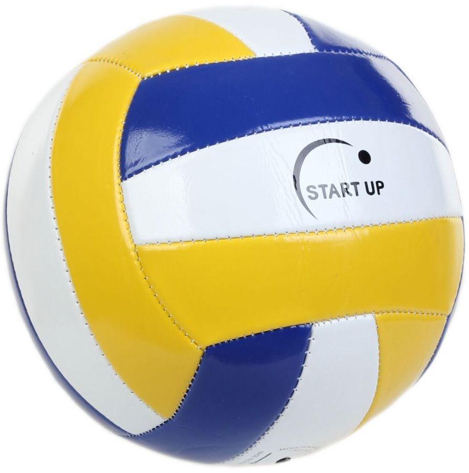 Мяч волейбольный для отдыха Start Up. E5111 N/C р5260123Машинная сшивка: + Камера: резина, 60-65 г Размер: 5 Количество панелей: 18 Окружность: 68-69 см Материал: поливинилхлорид Рекомендации: Рекомендован для игр на природе и развлечений Вес: 250-270 г