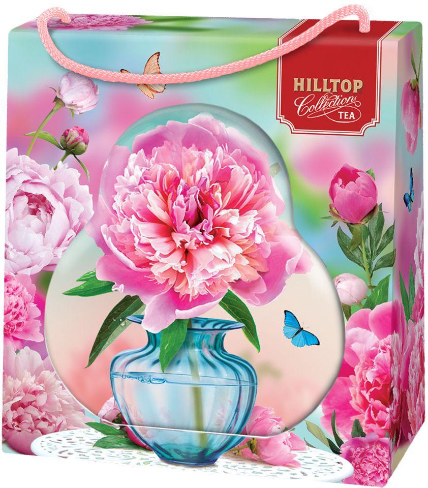 Hilltop Пион черный листовой чай Подарок Цейлона в футляре, 50 г4607099307926Чай Подарок Цейлона - крупнолистовой цейлонский черный чай с глубоким, насыщенным вкусом.