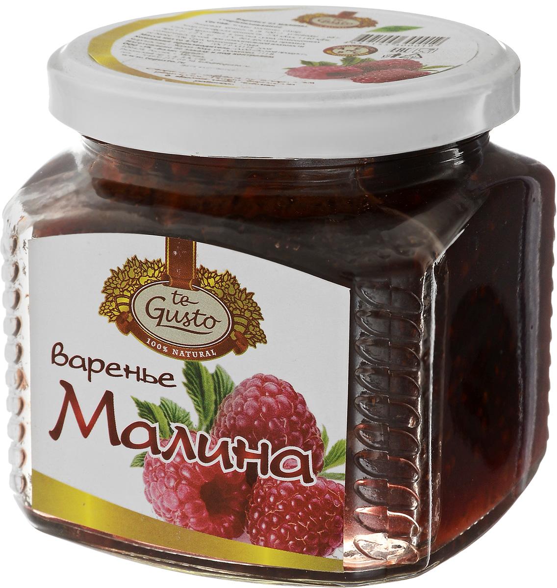 te Gusto Варенье из малины, 470 г4657155300019Вместо того чтобы бороться с простудами и инфекциями, принимая антибиотики, лучше заранее укрепить свой иммунитет, употребляя сочные ягоды малины. Помимо аскорбинки в малине достаточно много витамина А, который предохраняет от сердечно-сосудистых заболеваний, старения и рака, витамина РР, который поможет избавиться от усталости, бессонницы, улучшит аппетит и сделает кожу чистой и эластичной, витамина Е - главного компонента омолаживающих кремов для лица, и витамина В2, который способен победить прыщи, справиться с перхотью и сделать тусклые ломкие волосы густыми и блестящими. А поскольку все эти витамины являются антиоксидантами, поедание малины благоприятно отразится на вашей внешности. Главное богатство этой ягоды - салициловая кислота, которая способна справляться с бактериями и обладает жаропонижающим эффектом. Причем если другие ягоды при варке лишаются большей части полезных веществ, то малина в виде варенья справляется с простудой еще лучше, чем в свежем виде. Таким же...