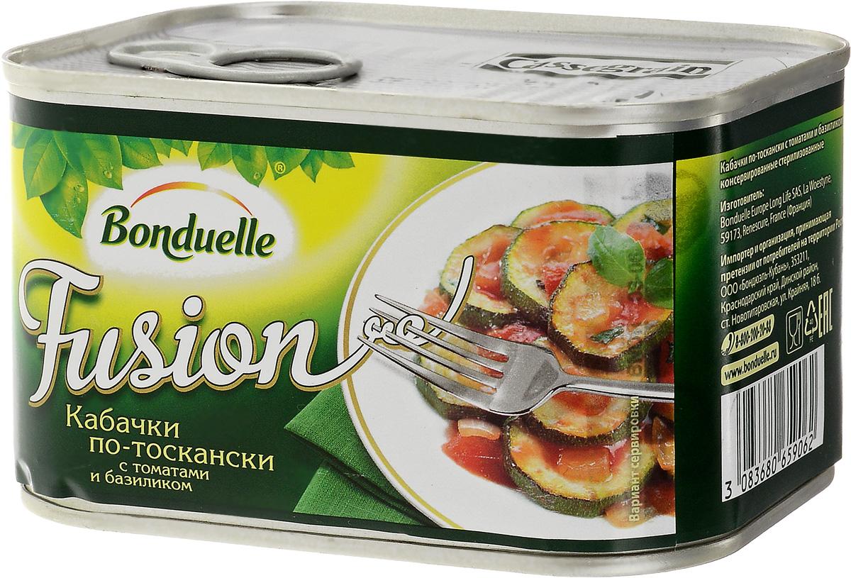 Bonduelle кабачки по-тоскански с томатами и базиликом, 375 г