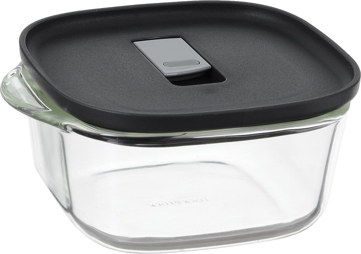 Контейнер пищевой Lock&Lock Glass, 760 млVT-1520(SR)Контейнер Lock&Lock Glass изготовлен из боросиликатного стекла, которое отличается высоким качеством и устойчиво даже при экстремальных температурах: от -100°C до +400°C. Контейнер оснащен двумя выступающими ручками. Термостойкая пластиковая крышка с силиконовой вставкой оснащена клапаном для герметичного закрытия. Контейнер Lock&Lock Glass удобен для ежедневного использования в быту.Можно мыть в посудомоечной машине и использовать в микроволновой печи.Ширина контейнера (с учетом ручек): 17 см.Внутренний размер контейнера: 13 х 13 см. Высота стенки контейнера: 6,5 см.Размер контейнера (с учетом крышки): 17 х 14 х 7,3 см.