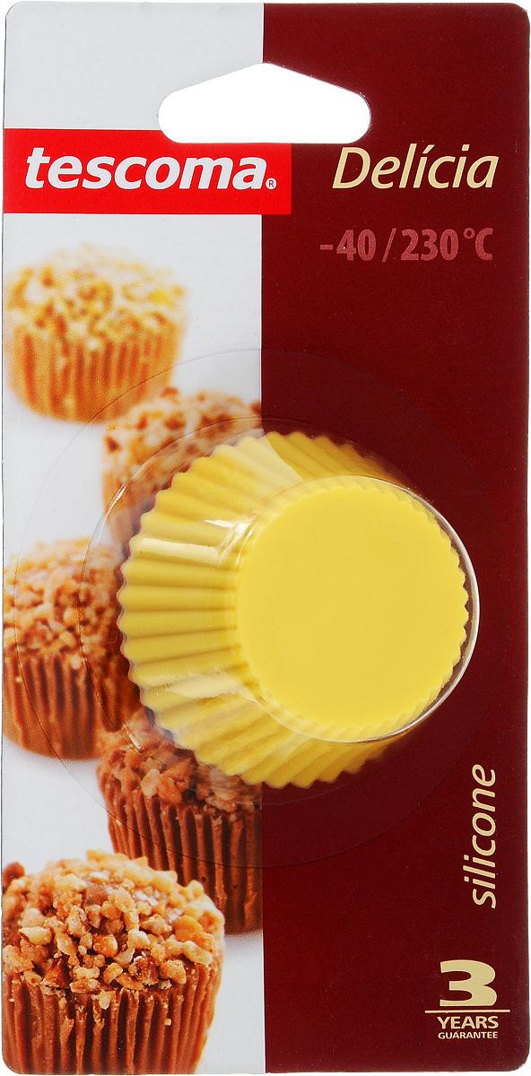 Набор форм для выпечки Tescoma Delicia, диаметр 5 см, 6 шт630644Формы для выпечки Tescoma Delicia, изготовленные из термостойкого силикона, выдерживают температуру от -40 до +230°C. В комплекте 6 форм. Если вы любите побаловать своих домашних вкусным и ароматным угощением по вашему оригинальному рецепту, то формы Tescoma Delicia как раз то, что вам нужно! Подходят для всех видов печей, включая микроволновую печь, пригодны для холодильника, морозильной камеры и посудомоечной машины. Диаметр формы: 5 см. Высота формы: 2,5 см.