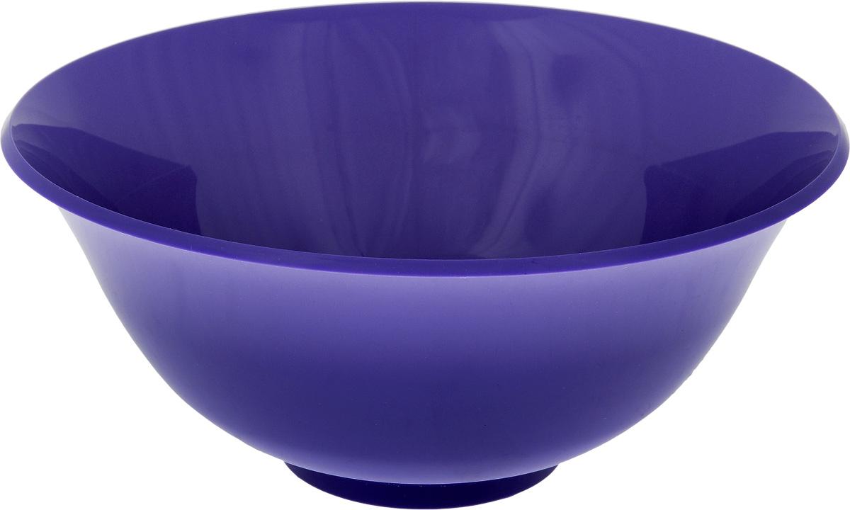 Салатник Idea, цвет: фиолетовый, 1,5 лМ 1341_фиолетовыйКруглый салатник Idea изготовлен из высококачественного пищевого полипропилена (пластика). Изделие предназначено для сервировки салатов, закусок и других блюд. Поверхность салатника гладкая и легко чистится. Такой салатник пригодится в любом хозяйстве. Объем: 1,5 л. Диаметр салатника (по-верхнему краю): 20 см. Высота салатника: 8,5 см.