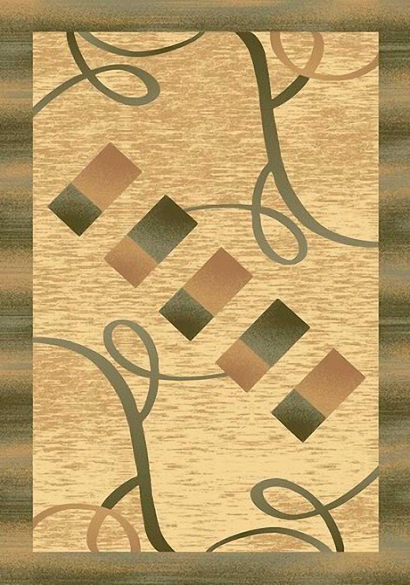 Ковер Emirhan Карвинг Империал, цвет: светло-бежевый, 60 х 110 см. 203420130212176576УКД-2003Ворс: 100% полипропилен хит-сет, ручная выстрижка ворса