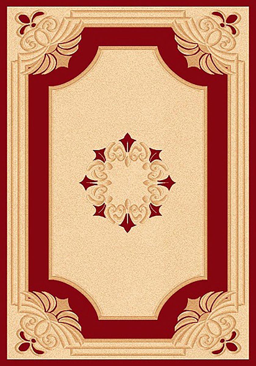 Ковер Mutas Carpet Карвинг, цвет: красный, 80 х 150 см. 706349706349Ворс: 100% полипропилен хит-сет, ручная выстрижка ворса
