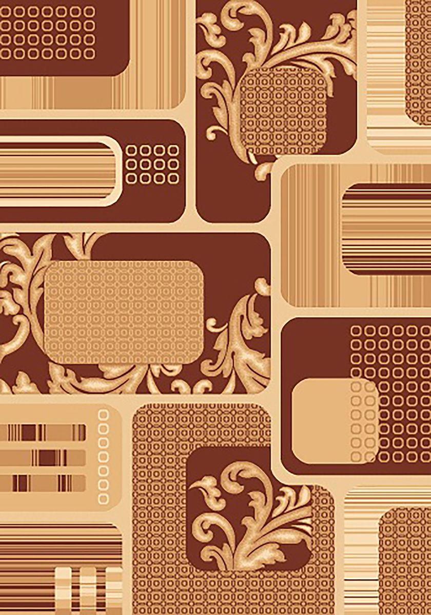 Ковер Mutas Carpet Карвинг, цвет: коричневый, 80 х 150 см. 707059707059Ворс: 100% полипропилен хит-сет, ручная выстрижка ворса
