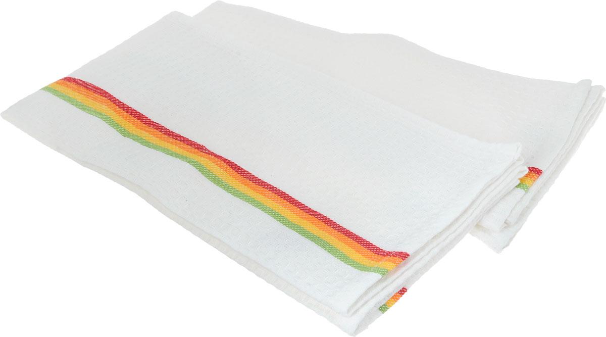 Полотенце для посуды Tescoma Presto Tone, 70 x 50 см, 2 шт639774Мягкое полотенце для посуды Tescoma Presto Tone изготовлено из 100% хлопка. Изделие отлично впитывает влагу, не оставляет подтеков и ворсинок. Высокое качество и оригинальный дизайн сделают изделие украшением любого кухонного интерьера.