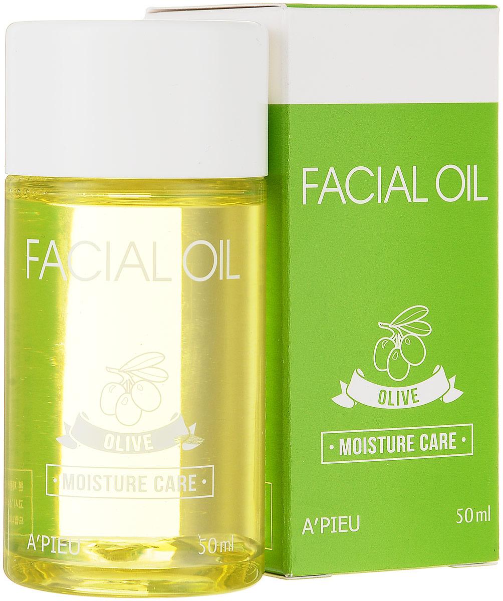APieu Olive Увлажняющее масло для лица, 50 млУТ-00000231Масло для лица на основе оливы помогает предотвратить потерю влаги, глубоко увлажняет и смягчает кожу, нормализует кислородный обмен и питание клеток кожи, препятствует старению и увяданию, разглаживает кожу и делает ее более упругой, защищает от негативного воздействия окружающей среды. Идеально для сухого типа кожи. Способ применения: нанести масло на чистую кожу массажными движениями и распределить по лицу.
