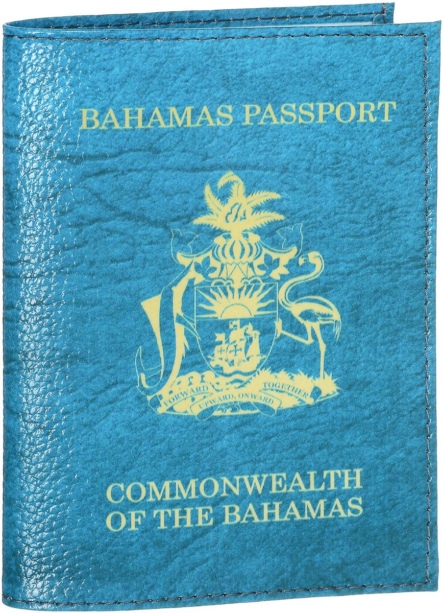 Обложка на паспорт Эврика Багамы, цвет: голубой, желтый. 9419594195Обложка для паспорта от Evruka - оригинальный и стильный аксессуар, который придется по душе истинным модникам и поклонникам интересного и необычного дизайна. Качественная обложка выполнена из легкого и прочного ПВХ, который надежно защищает важные документы от пыли и влаги. Рисунок нанесён специальным образом и защищён от стирания. Изделие раскладывается пополам. Внутри размещены два накладных кармашка из прозрачного ПВХ. Простая, но в то же время стильная обложка для паспорта определенно выделит своего обладателя из толпы и непременно поднимет настроение. А яркий современный дизайн, который является основной фишкой данной модели, будет радовать глаз.