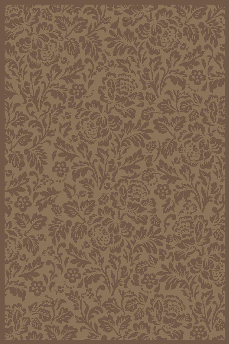 Ковер ART Carpets Платин, цвет: коричневый, 120 х 180 см. 203420130212182902UP210DFВорс полипропилен хит-сет, акрил