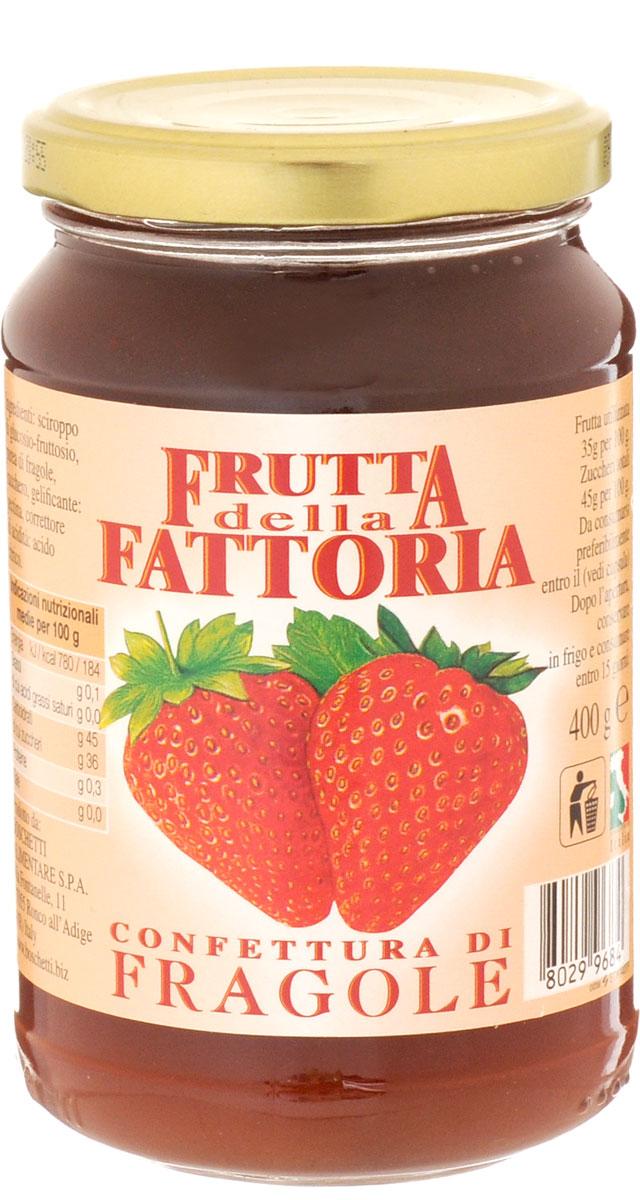 Boschetti джем клубничный, 400 г0120710Классический итальянский джем изготовлен из свежей клубники, собранной в период полной спелости. Именно поэтому как только вы откроете крышку, почувствуете насыщенный аромат и вкус спелых ягод! Прекрасно подходит для сладких начинок или как дополнение к разным блюдам: от мороженого и йогуртов до блинчиков.Уважаемые клиенты! Обращаем ваше внимание, что полный перечень состава продукта представлен на дополнительном изображении.
