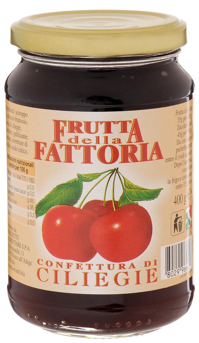 Boschetti джем вишневый, 400 г0120710Классический итальянский джем из спелой ароматной вишни. Прекрасно подходит для сладких начинок или как дополнение к разным блюдам: от мороженого и йогуртов до блинчиков.Уважаемые клиенты! Обращаем ваше внимание, что полный перечень состава продукта представлен на дополнительном изображении.