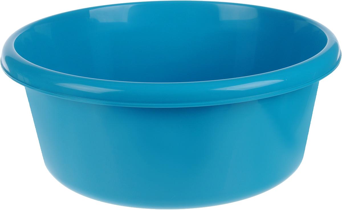 Таз Idea, круглый, цвет: бирюзовый, 11 лМ 2513Таз Idea выполнен из прочного пластика. Он предназначен для стирки и хранения разных вещей. Также в нем можно мыть фрукты. Такой таз пригодится в любом хозяйстве. Диаметр таза (по верхнему краю): 33 см. Высота стенки: 15 см.