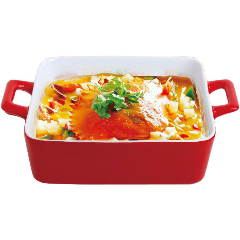 Форма для выпечки Bohmann, прямоугольная, 25,2 х 19,8 х 6,3 см6407BHБлюдо для выпекания BH/6407 (х12) Нагрев до температуры 220С Подходит для использования в микроволновой, конвекционной печи и духовке. Подходит для хранения продуктов в холодильнике и морозильной камере. Можно мыть в посудомоечной машине. Устойчивый к образованию пятен и не пропускающий запах. В такой форме можно запечь вкусный обед или ужин, и сразу же не перекладывая на другую тарелку поставить на стол. Размер: 25,2х19,8х6,3см